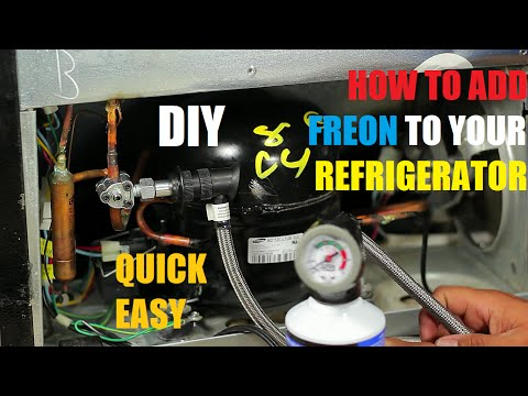 how-to-add-freon-to-your-refrigerator-134a