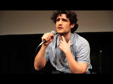 Louis Garrel at Lincoln Center, New York, March 2016  Masterclass