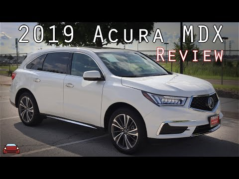 2019 Acura MDX Review
