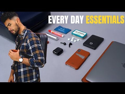 What's In My Backpack? - 10 EDC Items Every Guy Should Have