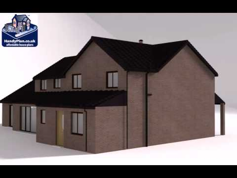 Extension Plans Online by HandyPlan.co.uk 1066 Proposed Double ...