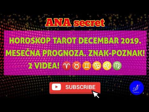 horoskop-tarot-decembar-2019.-meseČna-prognoza-za-znak-poznak.-2-videa!-i-deo-#anasecret#astro#tarot