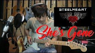 LEGEND ABISS!! Steelheart She's Gone Cover Melodi dan Tutorial Gitar Melodi