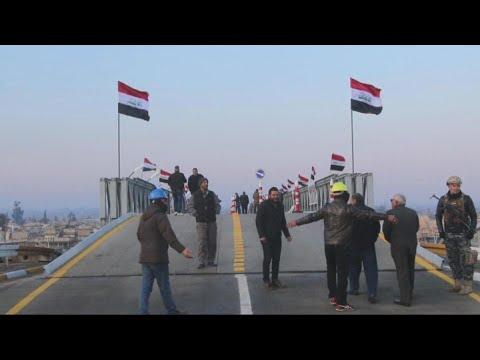 أولى جسور الموصل تعود الى العمل مجدداً  - نشر قبل 2 ساعة