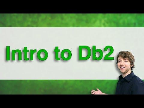 Db2 SQL Tutorial 1 - Intro to Db2