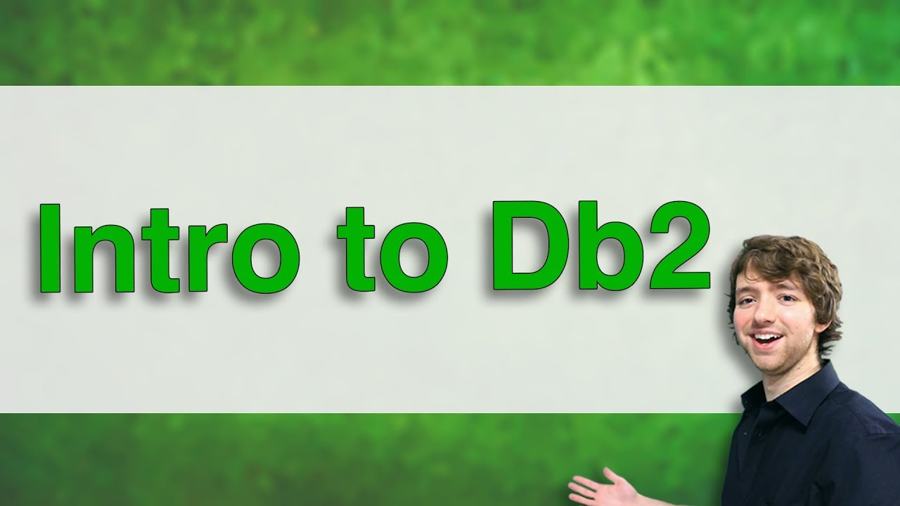 Db2 sql tutorial 2 getting started with db2 and dsm caleb curry.