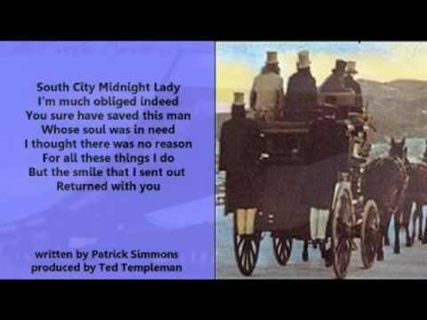 The Doobie Brothers - South City Midnight Lady (+ lyrics 1973)