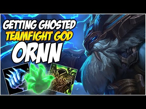 GETTING GHOSTED ON THE TEAMFIGHT GOD, ORNN | League of Legen