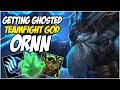 GETTING GHOSTED ON THE TEAMFIGHT GOD ORNN League Of Legends mp3