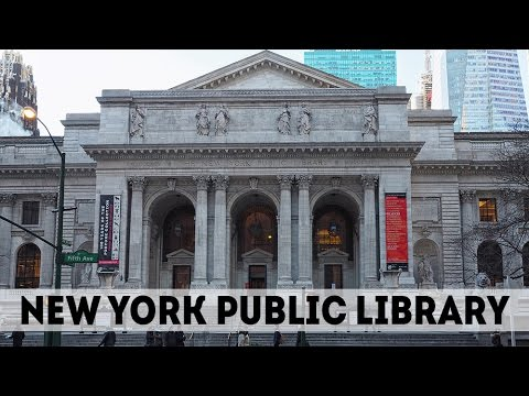 Travel: New York Public Library - Schwarzman Building