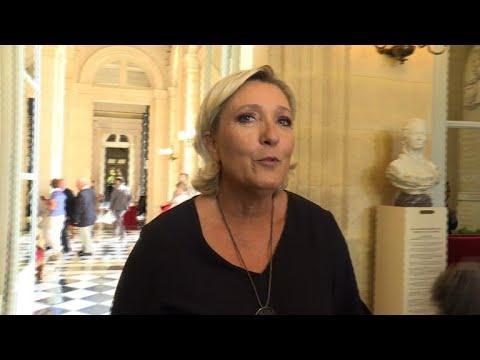 Marine Le Pen s