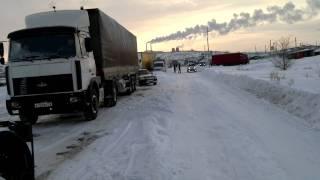 Трасса Волгоград-Саратов 03.02.2012.Белый плен-2.
