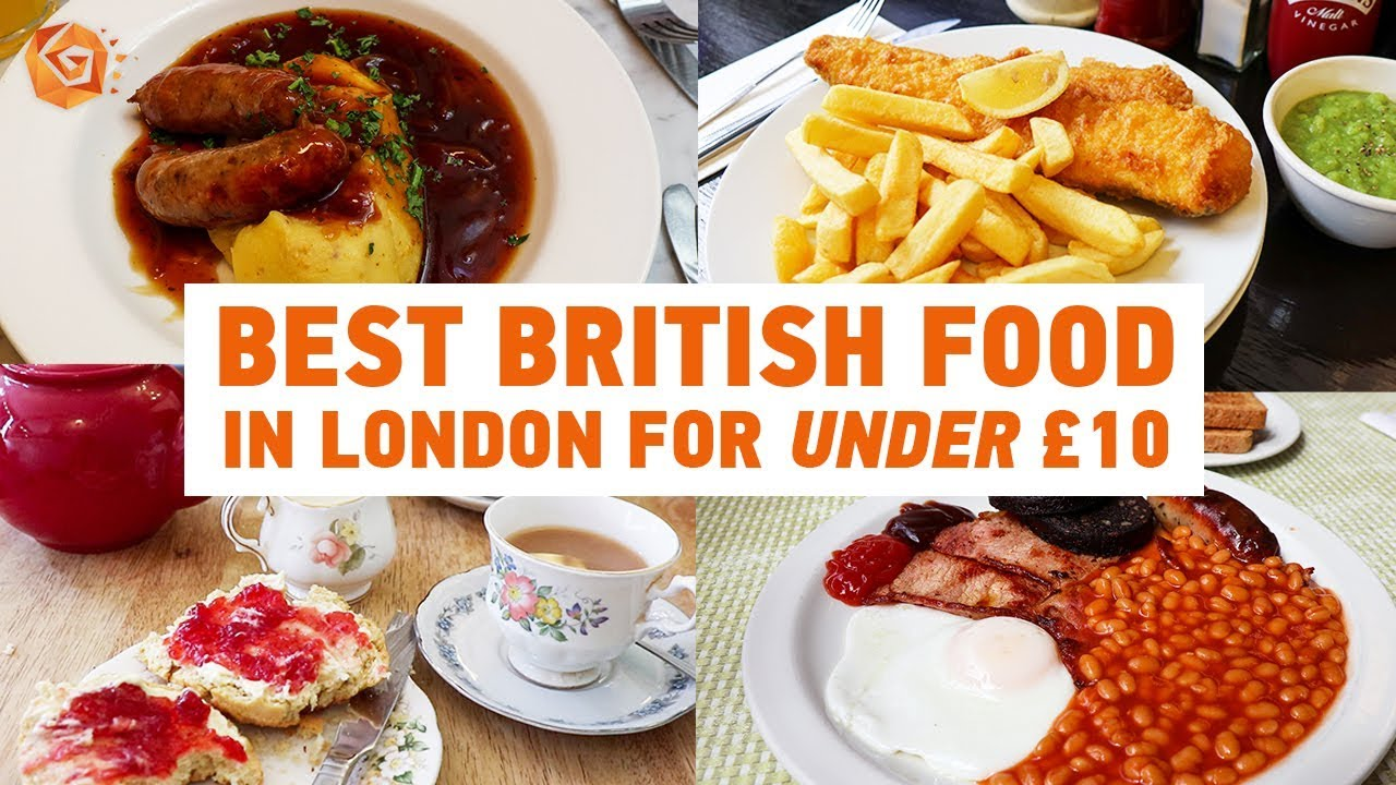 Where To Get The Best British Food In London For Under 10 St Christopher S Inns Youtube