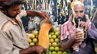 STREET GRAPEFRUIT JUICE | Amazing Grapefruit Cutting Skills | Street Drink of Karachi Pakistan
