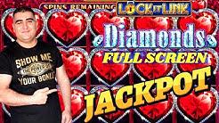Lock 🔐 It Link Slot Machine FULL SCREEN HANDPAY JACKPOT - Endless Treasures Slot  Happy Father's Day