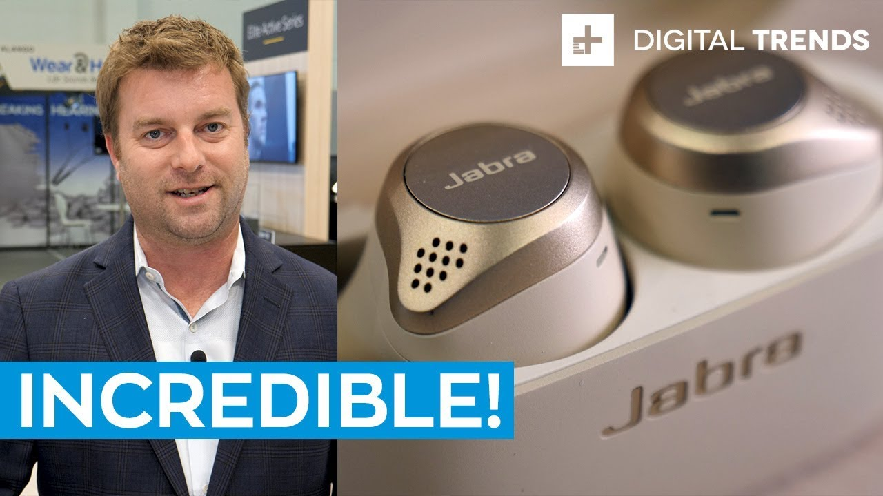 New Jabra Elite 75t True Wireless First Look Youtube