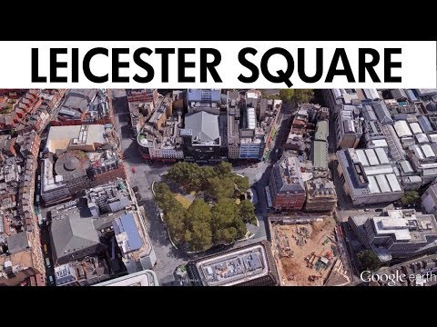 Leicester Square Quarter Redesign. Reconciling history and modernity