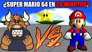 Reto #13 Super Mario 64 en menos de 20 minutos - Speedrun Retro Toro