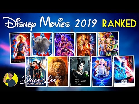 DISNEY MOVIES 2019 - All 10 Movies Ranked Worst to Best (including Pixar, Marvel, Star Wars)