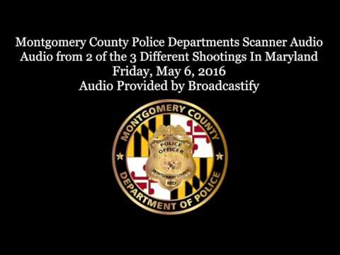 Raw Scanner Audio from 2 of the Shootings In Montgomery County Maryland