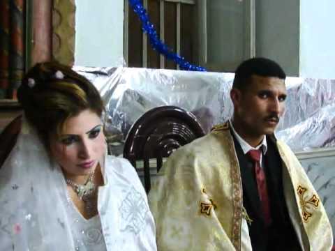 حفل زواج قبطي أرثوذكسي