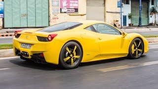 Ferrari 458 Italia thử khả năng tăng tốc trên phố | XSX