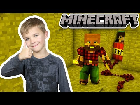 GETTING READY TO BUILD A NETHER PORTAL in MINECRAFT SURVIVAL MODE