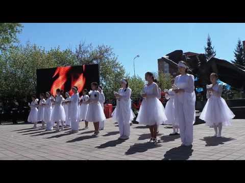 видео: В Кокшетау дали залп из орудий в честь Дня победы