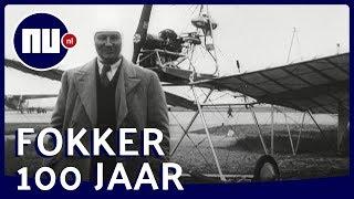 Historische beelden: Nederlandse vliegtuigfabriek Fokker 100 jaar   NU.nl