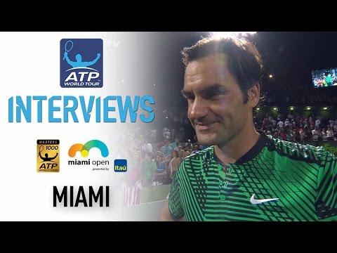 Roger Federer Talks Epic Win Over Kyrgios