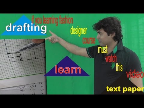Learn Drafting Corsess Online/Drafting and Design/Fashion De