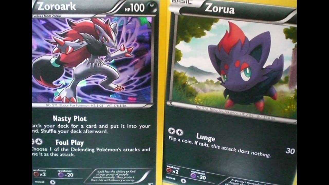 pokemon how to use zoroark