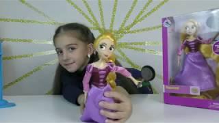 Обзор Куклы Рапунцель Дисней Rapunzel Adventure Doll   Tangled The Series
