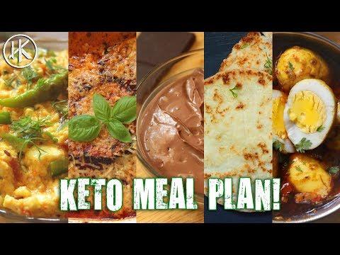 #MealPrepMonday Episode 4 1500 Calorie Vegetarian Keto Meal Plan (Keto Meal Prep)