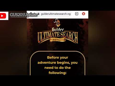 How to Apply for Gulder Ultimate Search 2021 Website link Requirements