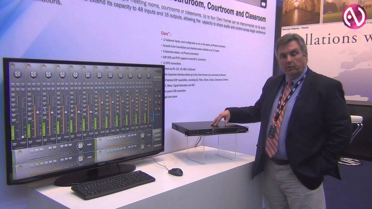 Peavey: цифровой аудиопроцессор Claro на PLS 2014