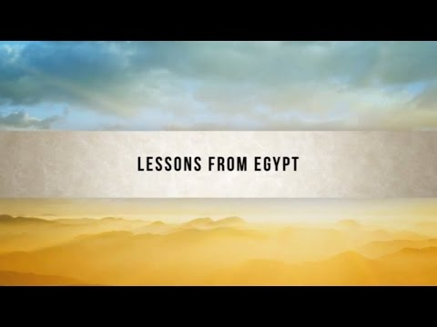 1411 - Lessons From Egypt - Kameron DeVasher