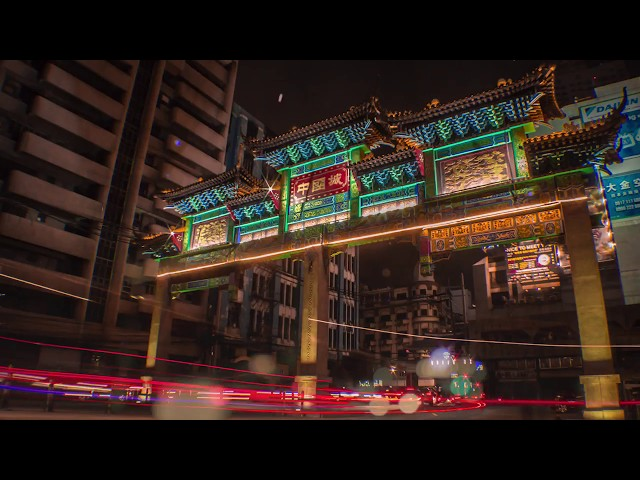 Chinatown Entrance Gate CINEMAGRAPH