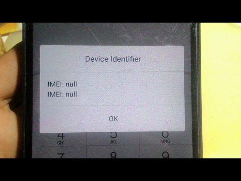 repair Imei Null Lenovo A6000