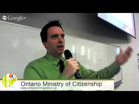 Ontario Ministry of Citizenship and Immigration Information Session