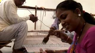 Hand loom garment industry in Uttar Pradesh