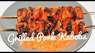 Kabobs On The Grill - Marinated Kabobs - Pork Kebabs Recipe
