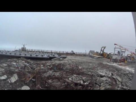 Fukushima I NPP Reactor 3 Operating Floor (8/11/2014)