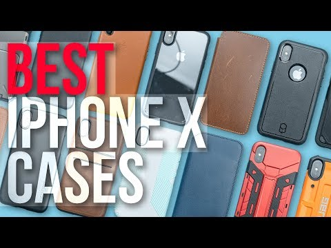 Best iPhone X Cases - November 2017