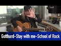 watch he video of Gotthard - Stay with me - School of Rock - How to play @ROCKANTENNE