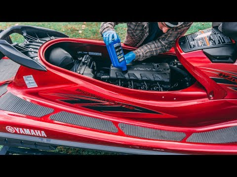 How to change the oil in a Yamaha wave runner VXR