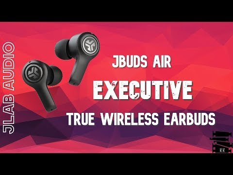 JLab - JBuds Air Executive True Wireless In-Ear Headphones || Unbox & Review || Mic Test