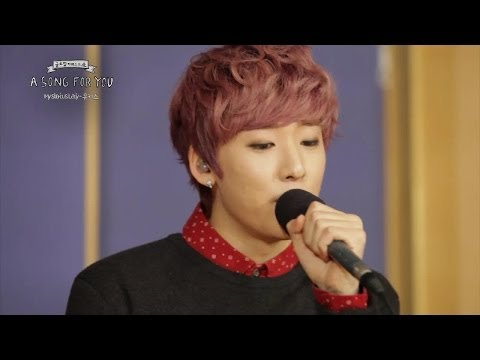 Global Request Show : A Song For You - Mysterious Lady by U-Kiss (2013.12.06)
