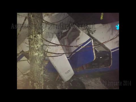 Accident aviatic Horea, Judetul Alba 20 ian 2014