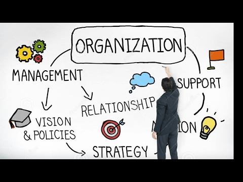 Rpsc-2nd grade - public administration -theory of organisations -part 1st